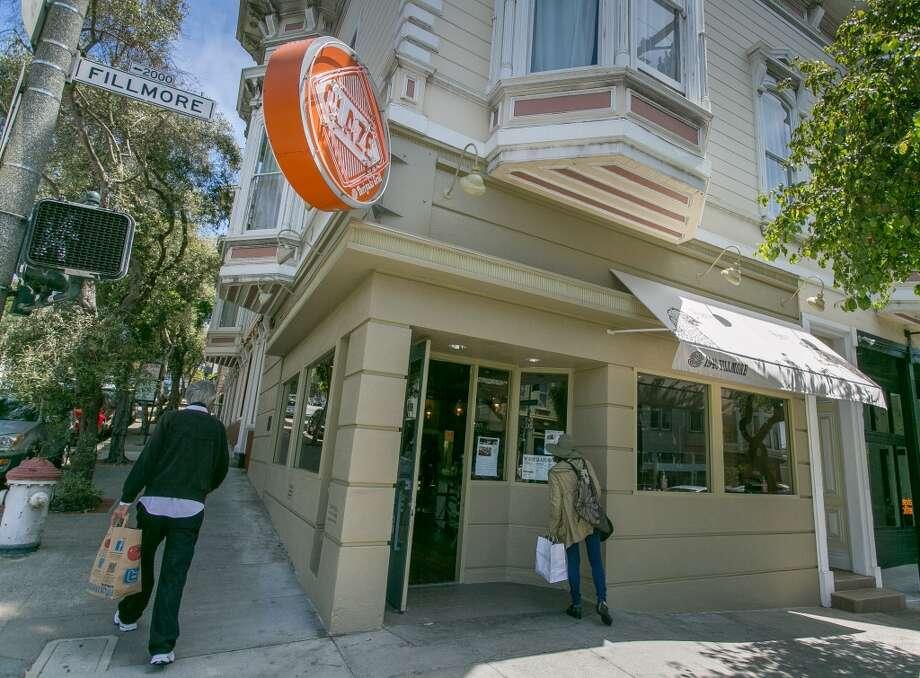 The exterior of Glaze Teriyaki Grill in San Francisco.