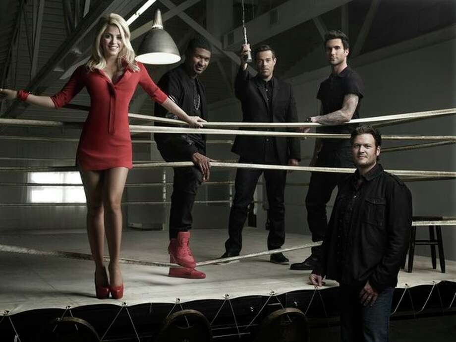 The Voice Mondays (NBC) 14.4 million Photo: NBC, Mark Seliger/NBC / 2012 NBCUniversal Media, LLC
