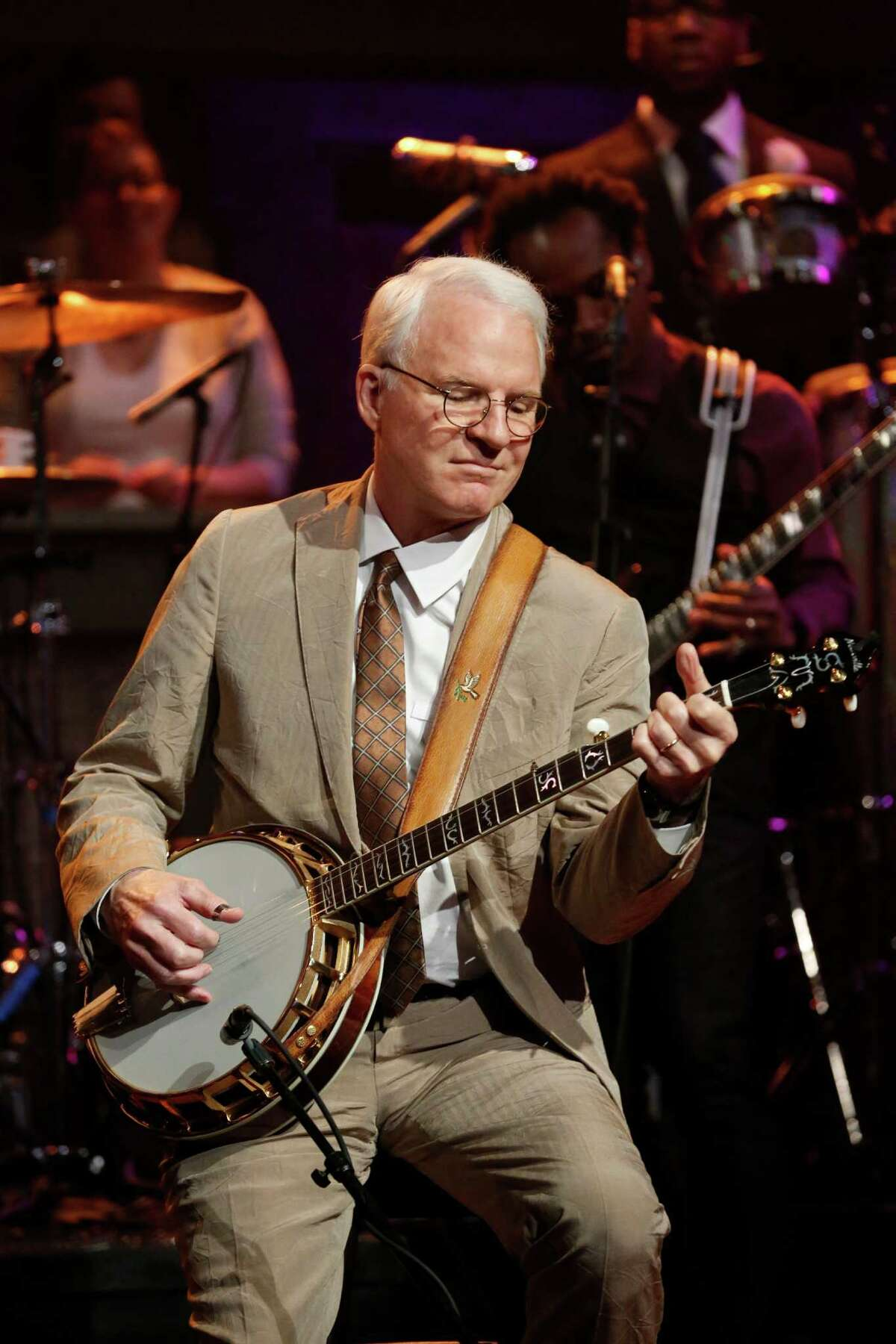 Steve Martin performs on
