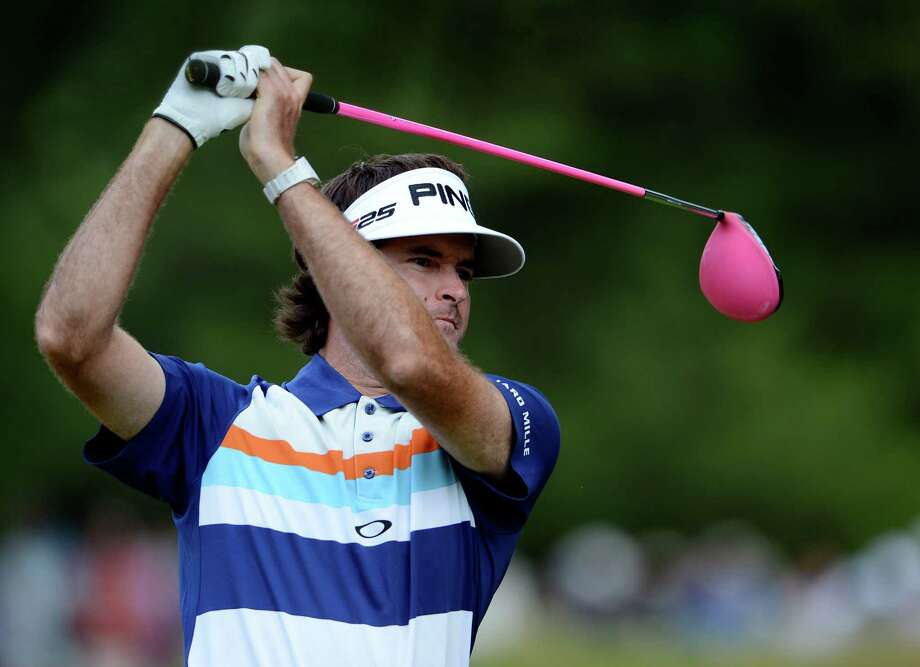 ARDMORE, PA - JUNE 14:  Bubba Watson of the United States hits his tee shot on the second hole during Round Two of the 113th U.S. Open at Merion Golf Club on June 14, 2013 in Ardmore, Pennsylvania. Photo: David Cannon, Getty Images / 2013 Getty Images