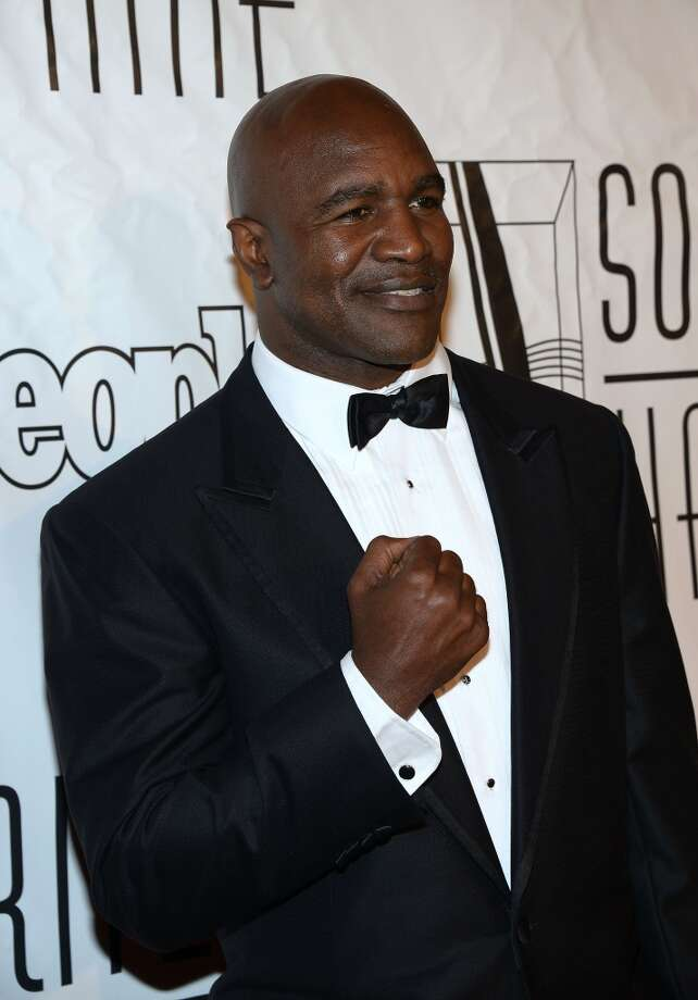 NEW YORK, NY - JUNE 13:  Former boxer Evander Holyfield attends the Songwriters Hall of Fame 44th Annual Induction and Awards Dinner at the New York Marriott Marquis on June 13, 2013 in New York City.  (Photo by Theo Wargo/Getty Images for Songwriters Hall Of Fame)