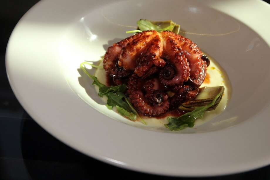 Baby octopus at the Forge.