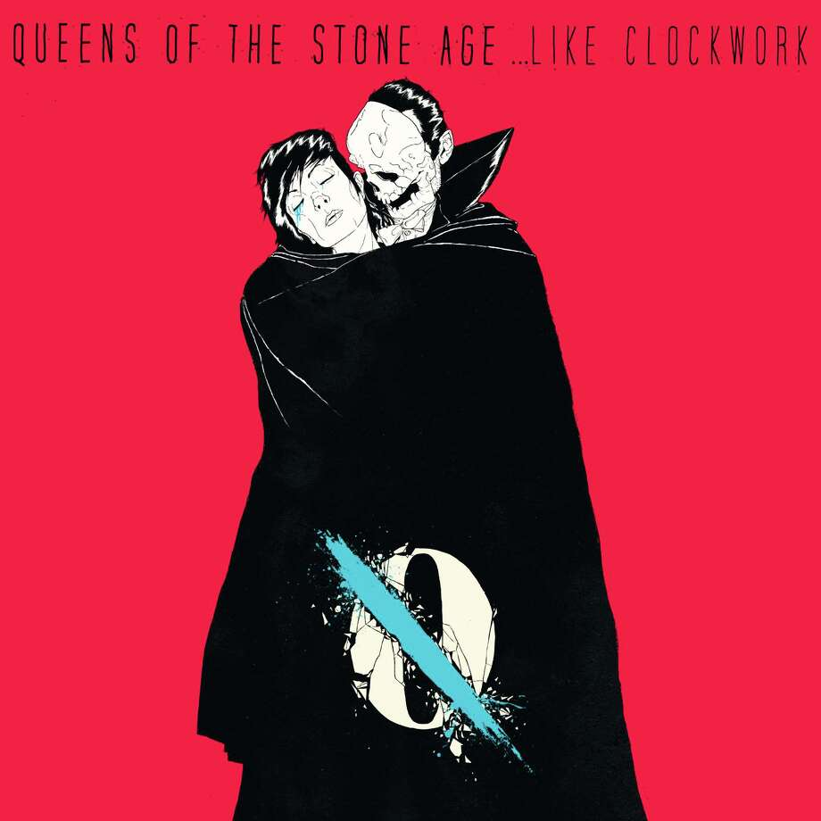 "This CD cover image released by Matador Records shows ""Like Clockwork,"" by Queens of the Stone Age. (AP Photo/Matador Records) Photo: Associated Press / Matador Records"
