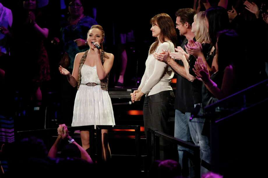 "Cypress teen Danielle Bradbery has been called ""the one to beat"" by Adam Levine. Photo: Tyler Golden, Contributor / ONLINE_YES"