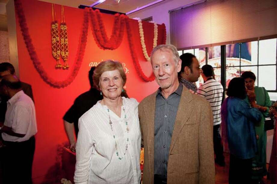 Lois Zamora and Carl Lindahl Photo: Alexander S Fine Portrait Design / Alexander Rogers