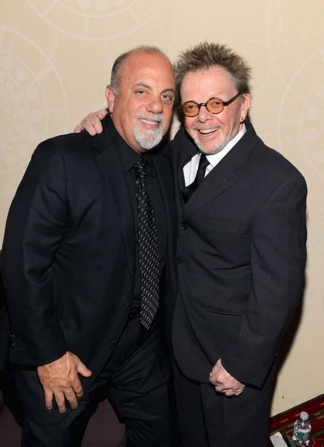 NEW YORK, NY - JUNE 13: Billy Joel and Paul Williams attend the Songwriters Hall of Fame 44th Annual Induction and Awards Dinner at the New York Marriott Marquis on June 13, 2013 in New York City.