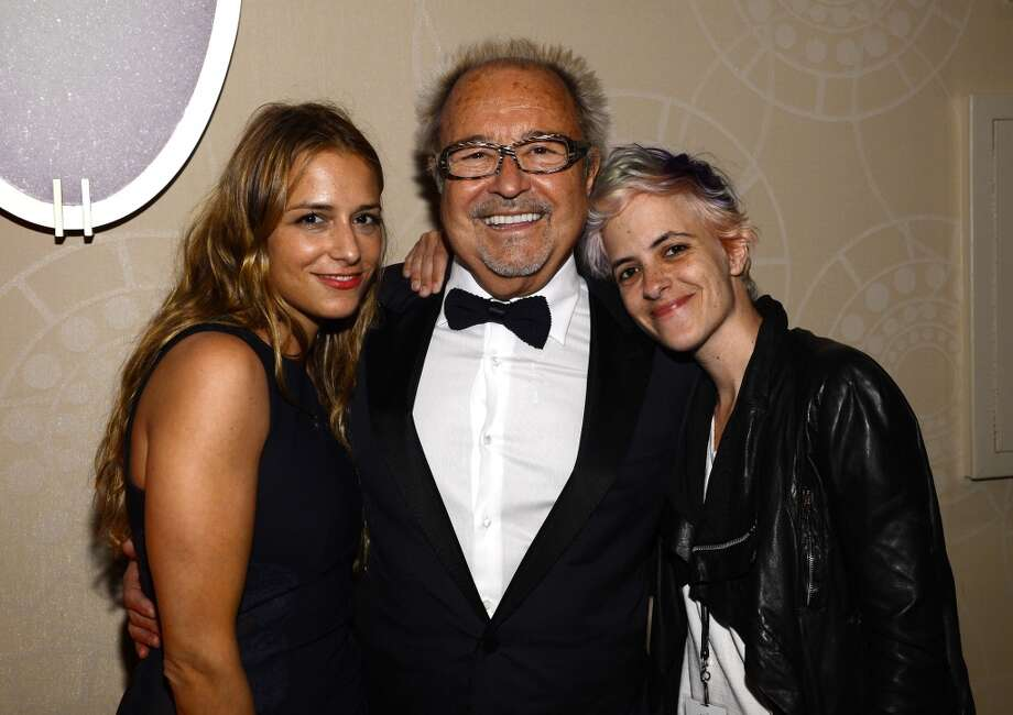 NEW YORK, NY - JUNE 13: (L-R) Charlotte Ronson, Mick Jones and Samantha Ronson attend the Songwriters Hall of Fame 44th Annual Induction and Awards Dinner at the New York Marriott Marquis on June 13, 2013 in New York City.