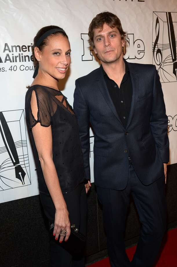 NEW YORK, NY - JUNE 13: Marisol Maldonado and Rob Thomas attend the Songwriters Hall of Fame 44th Annual Induction and Awards Dinner at the New York Marriott Marquis on June 13, 2013 in New York City.