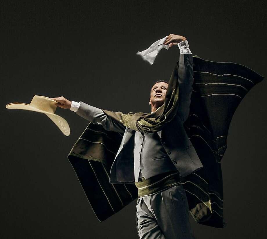 Dancers including Nestor Ruiz of El Tunante bring the world to San Francisco. Photo: RJ Muna, Ethnic Dance Festival