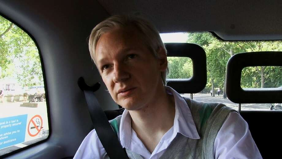 "Julian Assange, the subject of a recent documentary, wants WikiLeaks to be ""the greatest intelligence agency in the world."" Photo: Associated Press"