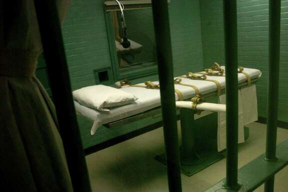 TDCJ death chamber where Ruben Cantu  was executed in Huntsville, Texas.   Photo by Carlos Antonio Rios Houston Chronicle