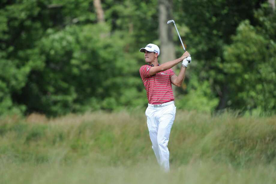 Billy Horschel on the 14th hole during the second round of the 2013 U.S. Open at the Merion Golf Club East Course in Ardmore, Pennsylvania, on Friday, June 14, 2013. (Clem Murray/Philadelphia Inquirer/MCT) Photo: CLEM MURRAY, McClatchy-Tribune News Service / Philadelphia Inquirer