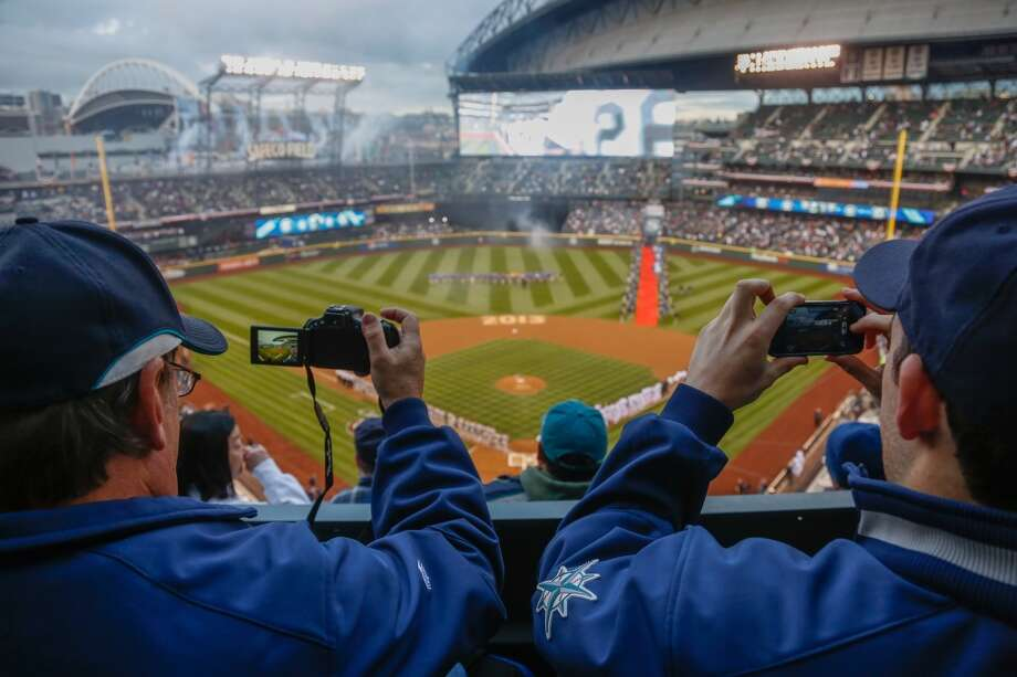 Safeco Field was chock full of refreshed fans, waiting to welcome the team back for their home opener.