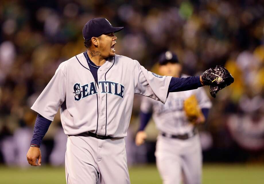 Despite another poor-hitting team, Felix Hernandez has still been Felix Hernandez -- aside from the addition of an interesting-looking neck tattoo.
