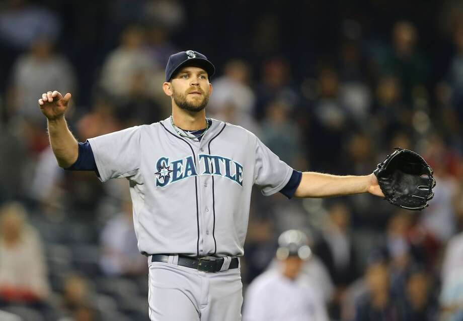 And just when the team seemed to finally be on the brink of a sweep, the once reliable Tom Wilhelmsen had his fourth blown save and perhaps blew his role as the team's closer, serving up five runs in the ninth inning against the Astros on Wednesday.