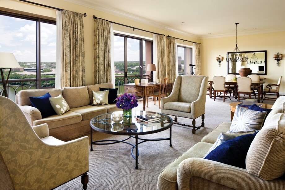 Austin's Four Seasons Hotel provides luxury and a view of Lady Bird Lake from the Presidential Suite.
