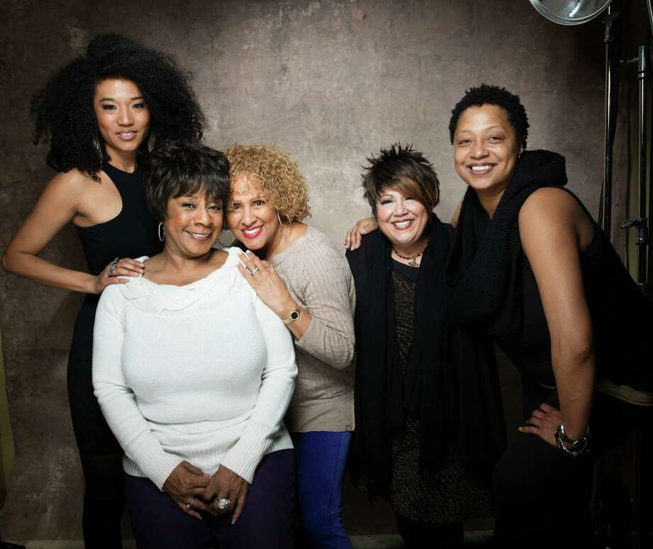 "FILE - This Jan. 21, 2013 file photo shows singers, from left, Judith Hill, Merry Clayton, Darlene Love, Tata Vega and Lisa Fischer from the film ""20 Feet from Stardom"" at the 2013 Sundance Film Festival at the Fender Music Lodge in Park City, Utah. The documentary about backup singers also features Mick Jagger, Bruce Springsteen, Bette Midler and Stevie Wonder. (Photo by Victoria Will/Invision/AP, file) Photo: Victoria Will"