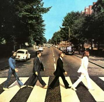 Possibly the most famous celebrity death hoax, pre-Internet days, was aimed at Paul McCartney. Theorists concluded that the cover photo of the Abbey Road album showed a funeral procession; Paul, the corpse, is barefoot and has his right foot extended instead of the left. Photo: Apple/Capitol