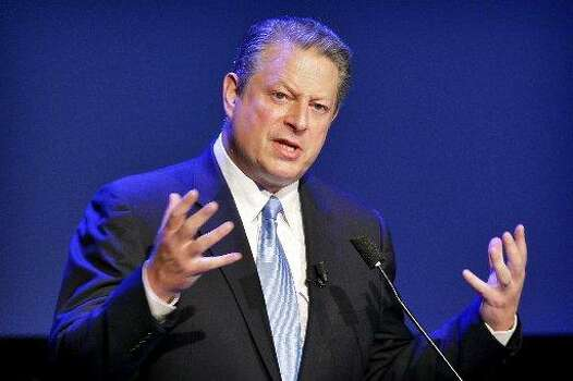 """Al Gore's fake death was Jose Canseco's fault. The former baseball star tweeted: """"al gore was a head of his time .i miss him rest in peace buddy hug for u"""" ... even though Gore is still alive. Photo: AP"""