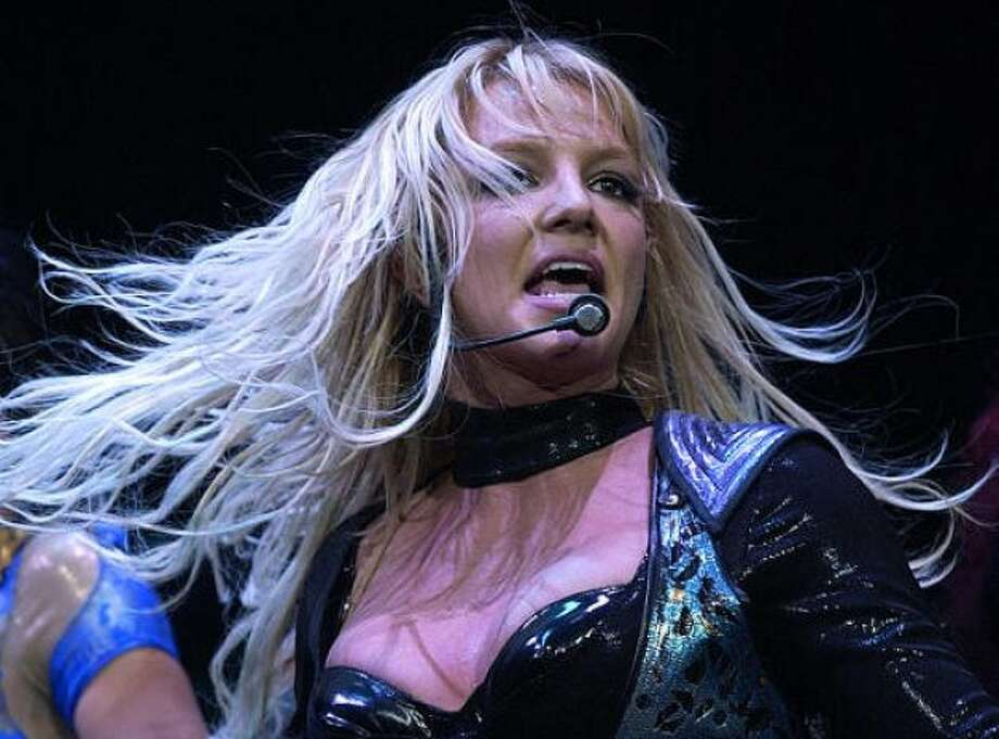 Britney Spears has shuffled off the mortal coil several times. Some of the silliest included the rumor that she committed suicide with a rehab clinic bedsheet and that she died in a car crash with a pretzel van. Photo: Matt York, AP / HC