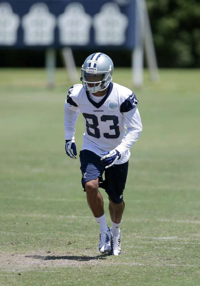 Dallas Cowboys wide receiver Terrance Williams (83) participates in offensive drills during their NFL football minicamp on Thursday, June 13, 2013, in Irving, Texas. (AP Photo/Tony Gutierrez) Photo: Tony Gutierrez, Associated Press / AP