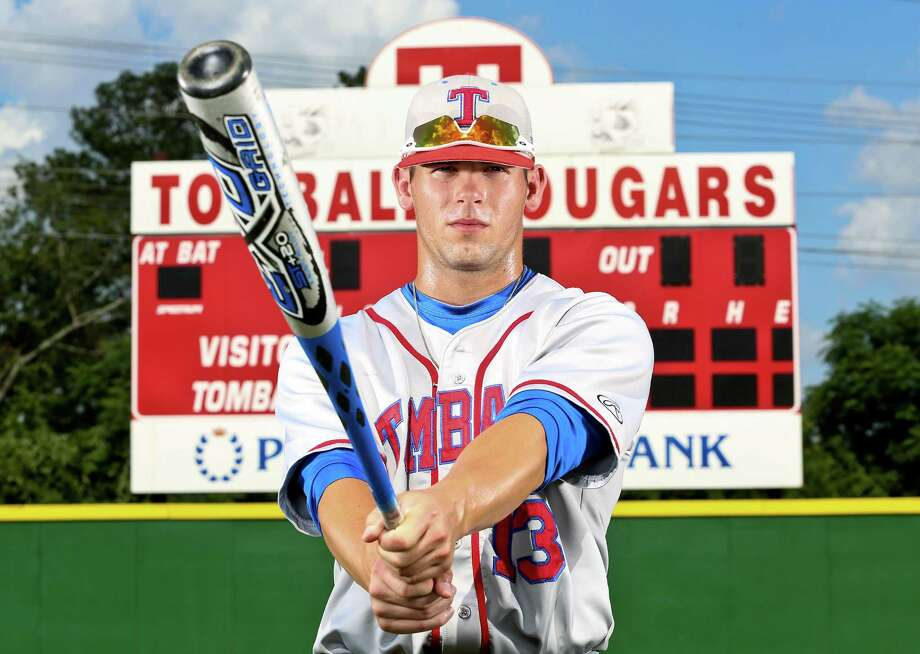 Tomball right fielder Nick Banks' season included a .581 batting average, nine homers, 39 RBIs and 43 runs scored. Photo: Thomas B. Shea / © 2013 Thomas B. Shea