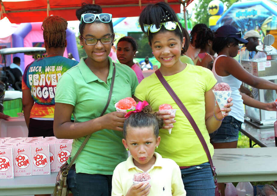 Food, fun and live music were all part of the plan Saturday at Beaumont's Juneteenth concert/celebration in Tyrrell Park. Photo: Sarah Moore