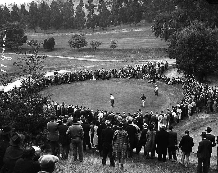 Picturesque and historic, Sequoyah Country Club in the Oakland hills marks its centennial this year. Photo: The Chronicle
