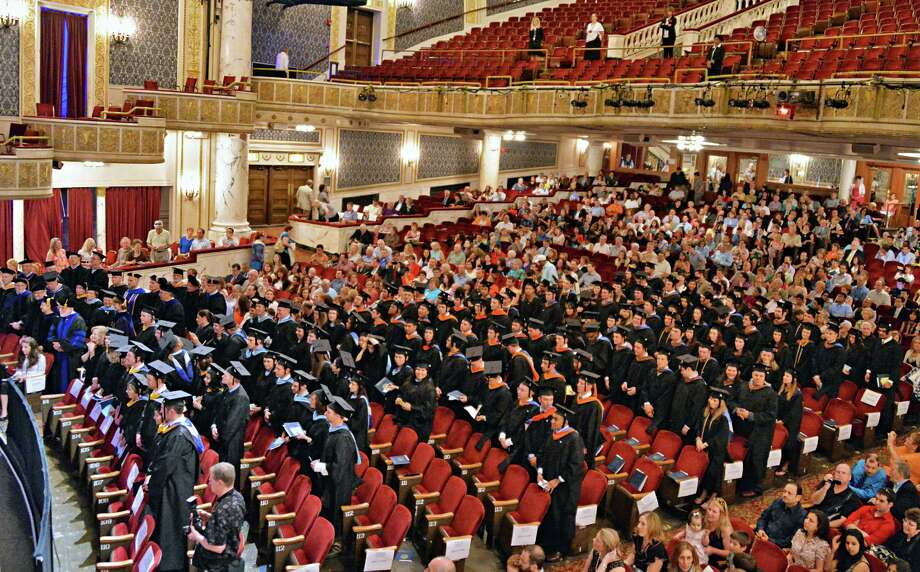 Union Graduate College commencement ceremonies at Proctor's Theatre in Schenectady, NY, Saturday June 15, 2013.  (John Carl D'Annibale / Times Union) Photo: John Carl D'Annibale / 00022707A