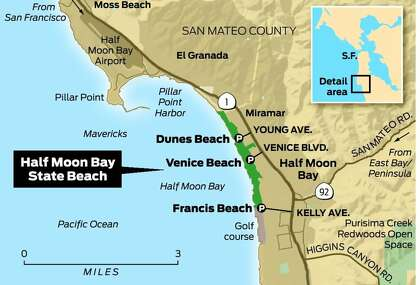 Miles Of State Beach At Half Moon Bay Sfchronicle Com