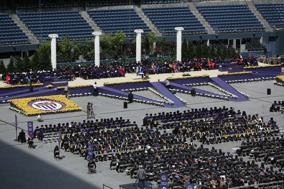 The University of Washington enjoys a prestigious No. 27 ranking among the world's top 100 universities, in a list compiled by The Times Higher Education and Thompson Reuters. Click through the slideshow to see which universities made it in the top 10. Photo: JOSHUA TRUJILLO, SEATTLEPI.COM / SEATTLEPI.COM