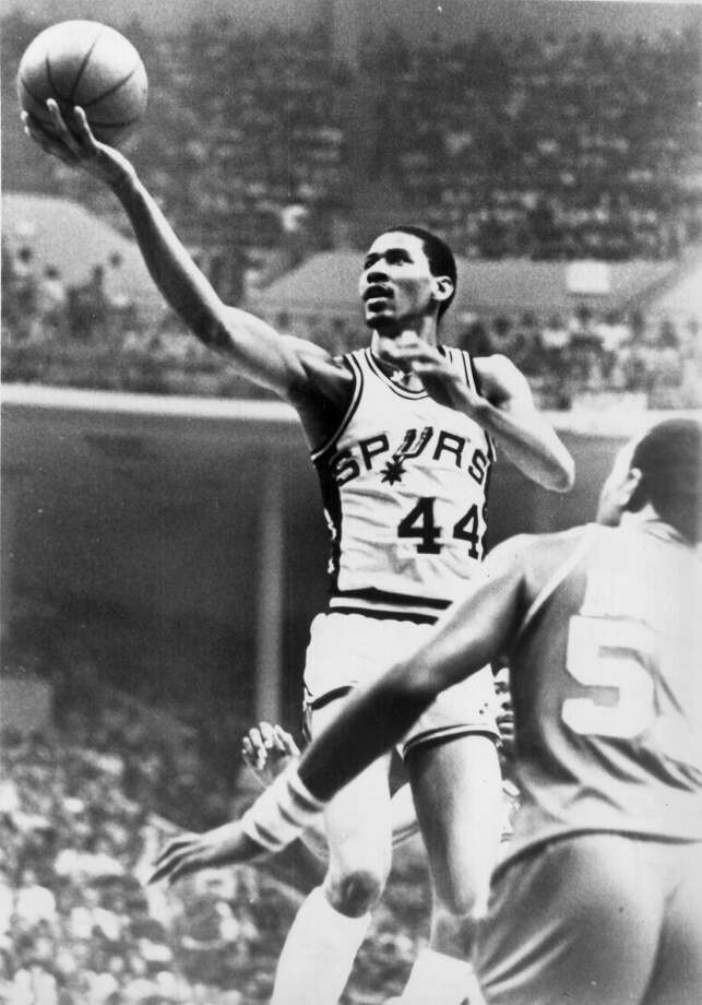 George Gervin ... The Spurs' first Hall of Fame player helped develop the talents of his son ...