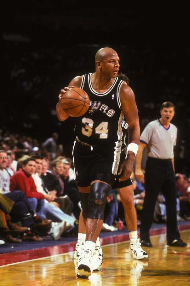 Terry Cummings ...The high-scoring power forward with the Spurs was followed by his son ...