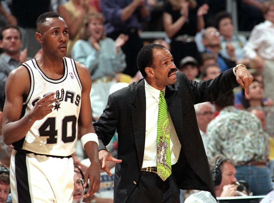 John Lucas ...John Lucas played for and coached the Spurs.