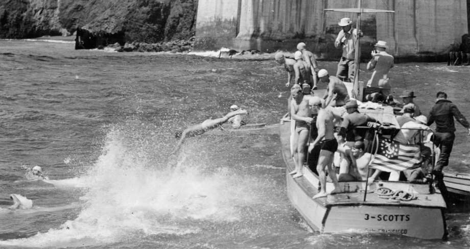 Dolphin Club Swim, September 15, 1941.