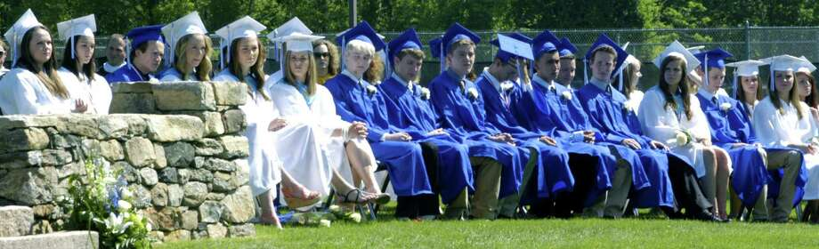 The Shepaug Valley High School's commencement ceremony for the Class of 2013. June 15, 2013 Photo: Norm Cummings