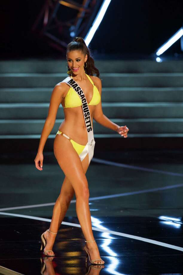 In this photo provided by the Miss Universe Organization,  Miss Massachusetts USA 2013, Sarah Kidd,  competes in her swimsuit during the  2013 Miss USA Competition Preliminary Show in Las Vegas on Wednesday June 12, 2013.   She will compete for the title of Miss USA 2013 and the coveted Miss USA Diamond Nexus Crown on June 16, 2013. Photo: AP