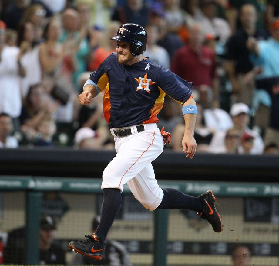 June 16: Astros 5, White Sox 5Trevor Crowe of the Astros scores a run against the White Sox.