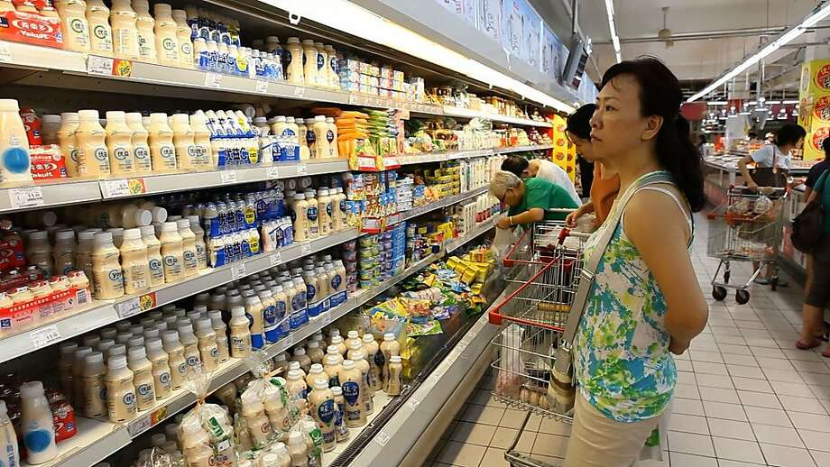 Dairy products are in demand with China's middle class, which gives California's troubled dairy industry new hope. Photo: Serene Fang, CIR