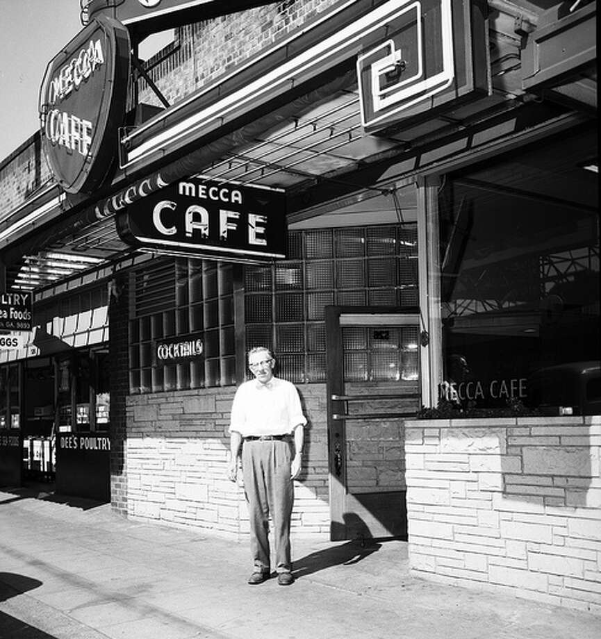 Here's the Mecca Cafe in Queen Anne, a dive bar that's been around a long time. This photo is from 1954.