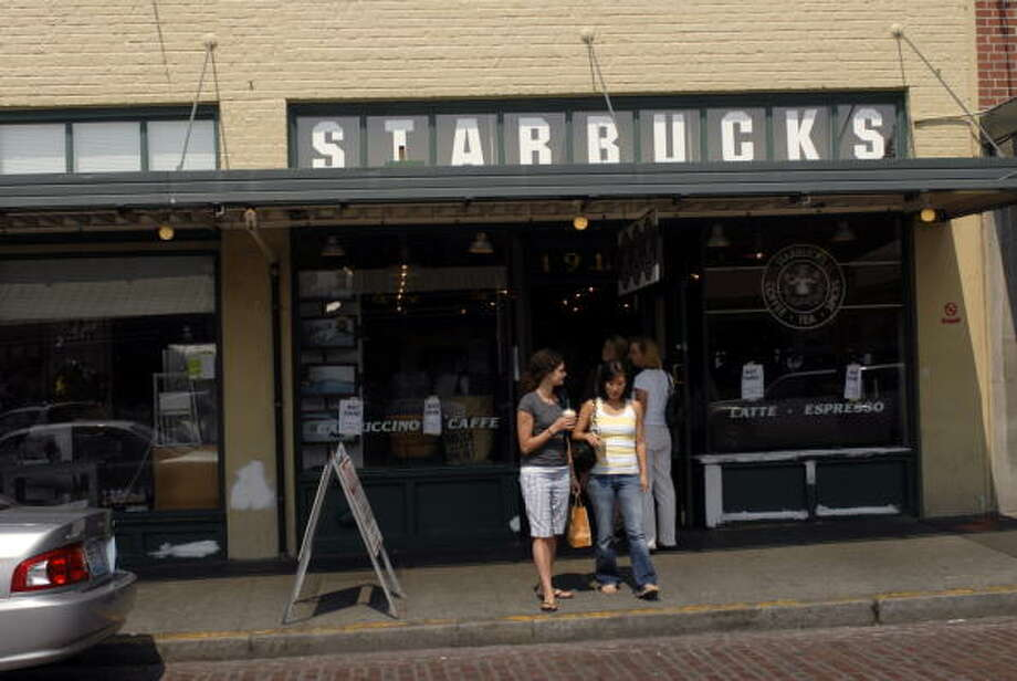 Starbucks in Pike Place Market, now. Photo: Melanie Conner, Getty Images / 2008 Getty Images