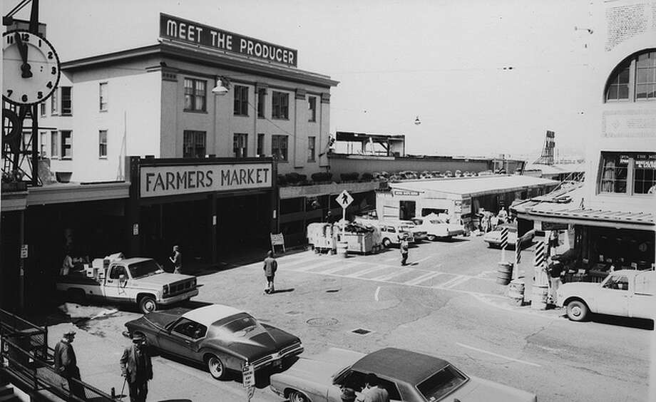 How much hasn't changed in this 1975 view of Pike Place Market?