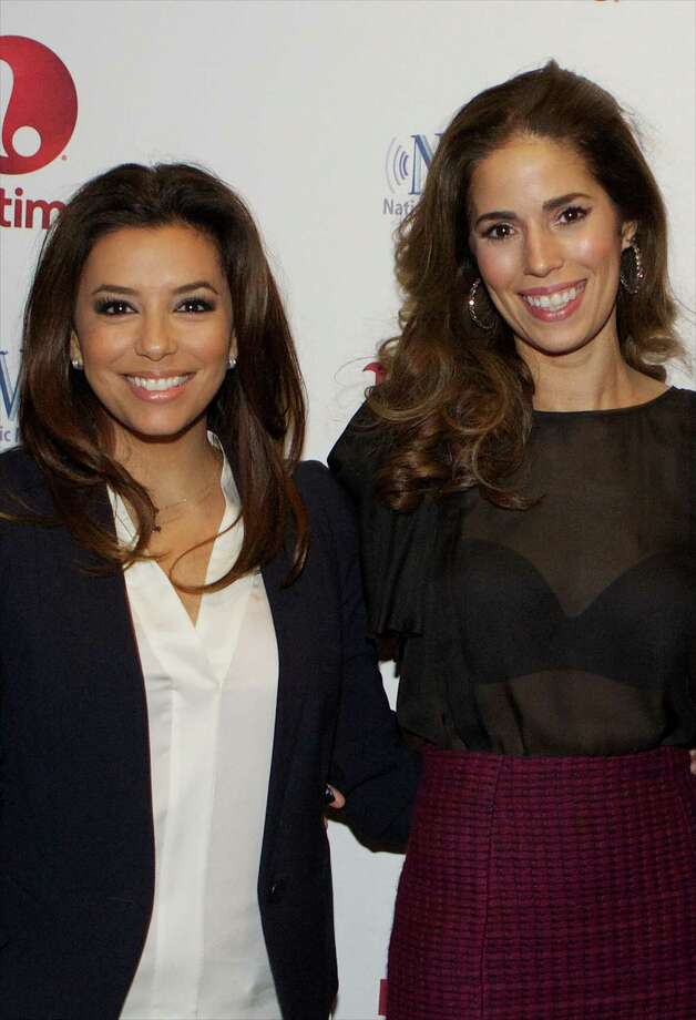 """2) There's an all-Latina leading cast. The quintet of maids that make up the show's leading ladies are all of Latin descent. Longoria described this as the first time this demographic make-up has made it to air, and as """"breakthrough television.""""  Photo: Jeff Schear, Getty Images For A+E Networks / 2013 Getty Images"""