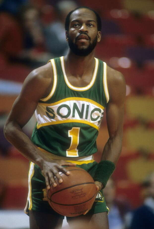 The Wizard  Gus Williams -- SuperSonics (1977-84)  Photo: Focus On Sport, Getty Images / 1980 Focus on Sport
