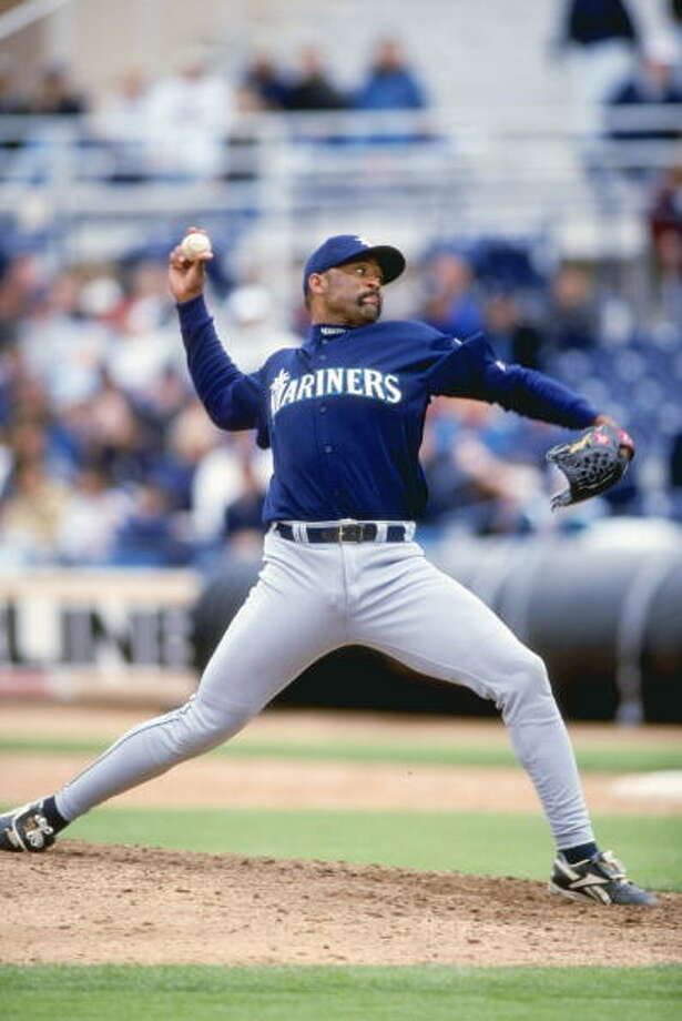 Señor SmokeJose Mesa-- Mariners (1999-2000)  Photo: Otto Greule Jr, Getty Images / Getty Images North America