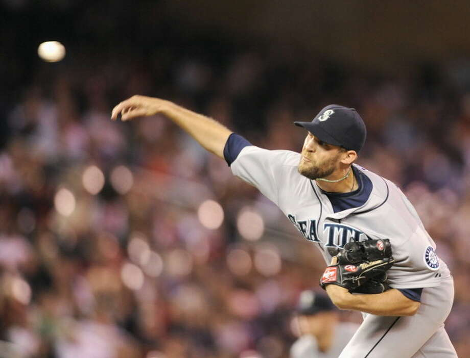 The Bartender  Tom Wilhelmsen -- Mariners (2011-present)  Photo: Hannah Foslien, Getty Images / 2013 Getty Images