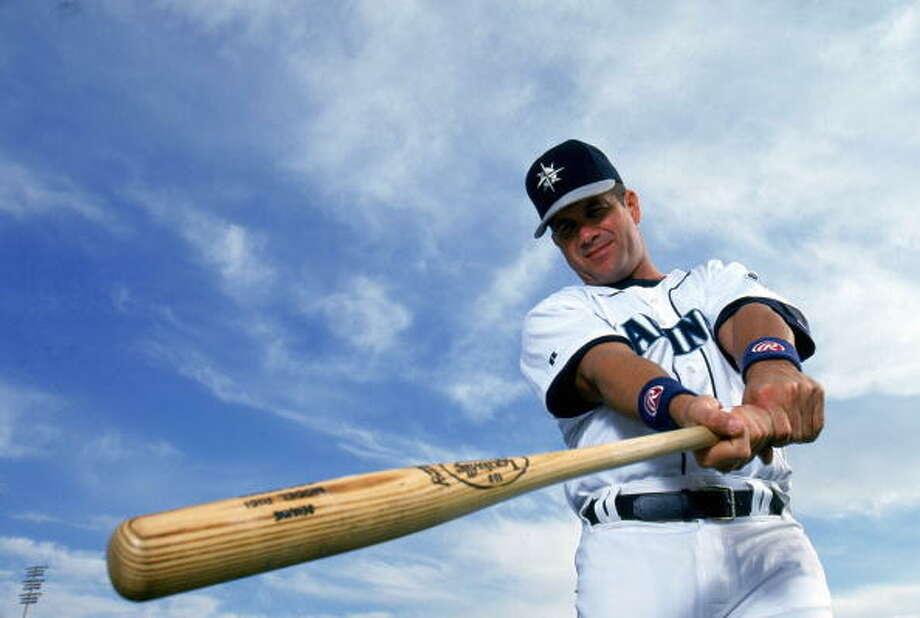 'Gar / Papi  Edgar Martinez -- Mariners (1987-2004)  Photo: Michael Zagaris, MLB Photos Via Getty Images / 1997 Michael Zagaris