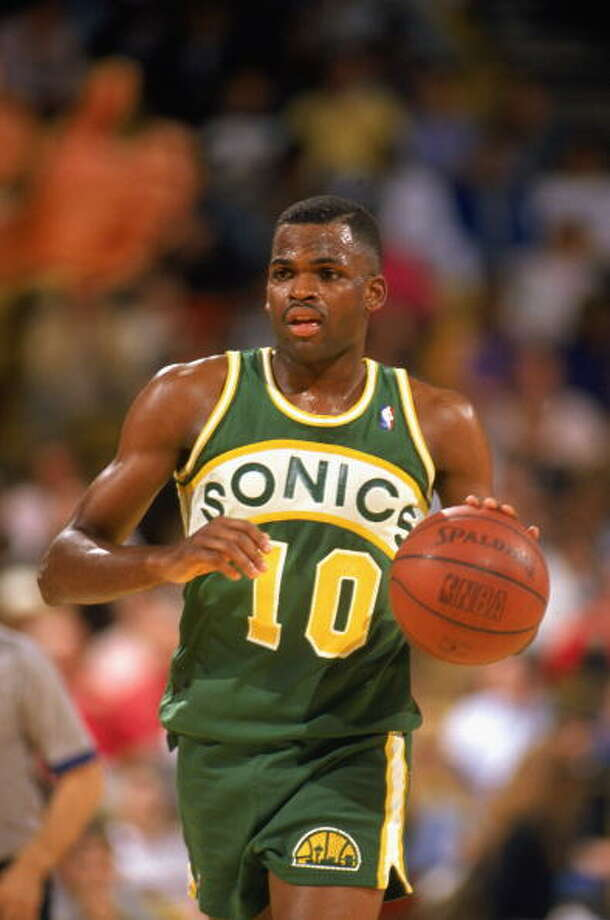 Mr. SonicNate McMillan-- SuperSonics (1986-98)  Photo: Ken Levine, Getty Images / 1990 Getty Images