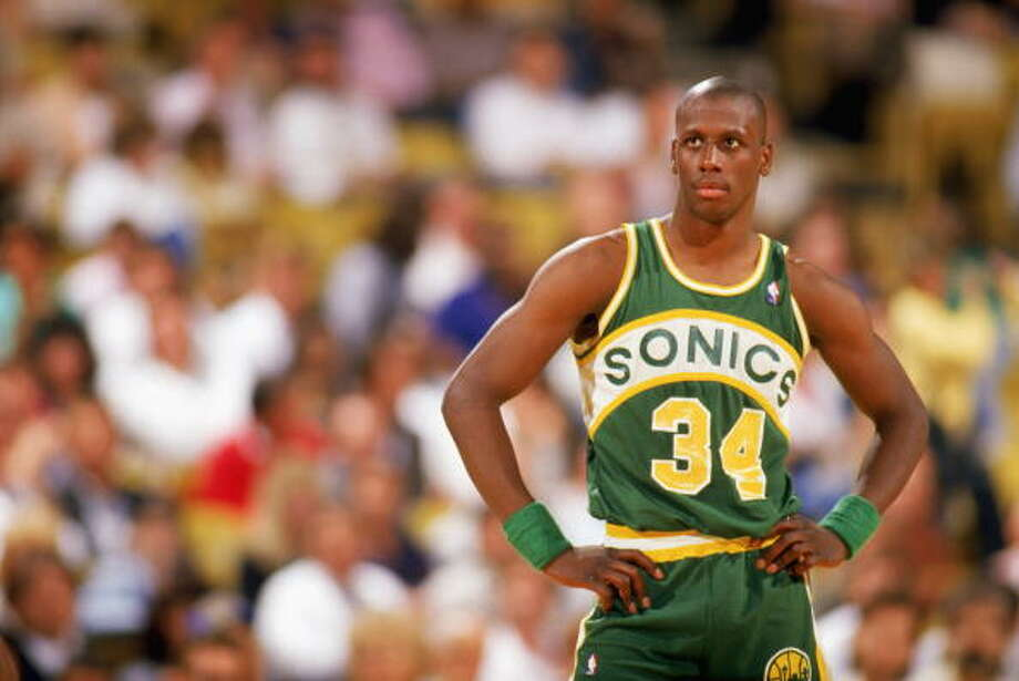 The X-Man  Xavier McDaniel -- SuperSonics (1985-90)  Photo: Rick Stewart, Getty Images / 1987 Getty Images