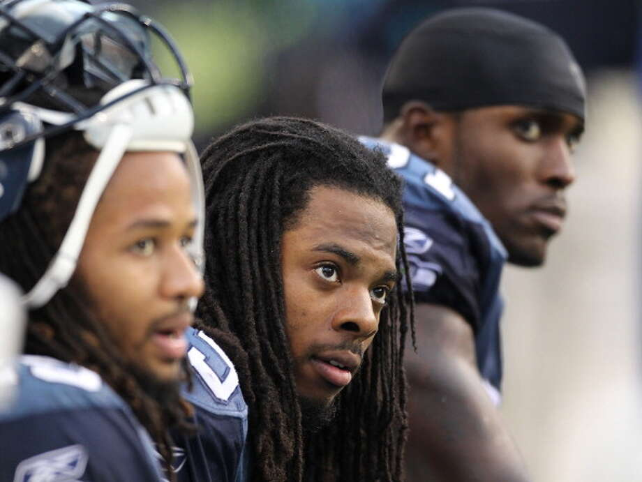 The Legion of Boom  Seahawks secondary (2012-present) -- safeties Earl Thomas and Kam Chancellor, and cornerbacks Richard Sherman and Brandon Browner   Photo: Otto Greule Jr, Getty Images / 2011 Getty Images